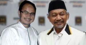 Agung Yulianto dan Ahmad Syaikhu, dua dari tiga kandidat calon Wakil Gubernur DKI Jakarta.