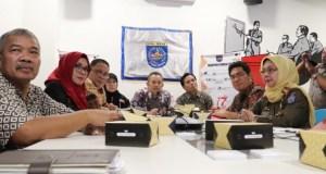 Persiapan Pemilu serentak di Depok berjalan lancar karena selalu dikomunikasikan dengan pihak KPU Kota Depok.