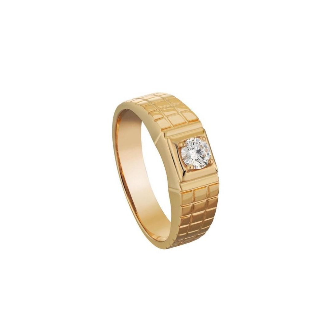 cincin berlian pria mewah