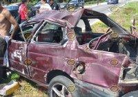 En Manzanillo, vuelca Tsuru camino a Tepalcates, se reportan dos lesionados