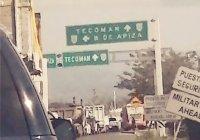 Reportan en Coahuayana largas filas en ingreso a Colima por COVID-19
