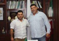 Nombra Salvador Bueno a Aldo Raúl Enríquez Rivero como nuevo director de Servicios Públicos