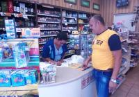 Protección Civil en Tecomán supervisa que negocios del municipio cumplan con protocolos de higiene por COVID-19