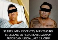 """Policía Estatal detiene a los dos sicarios que ejecutaron al dueño del restaurante """"camarón pelao"""""""