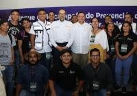 Presenta Gobernador campaña de prevención de la violencia en Manzanillo