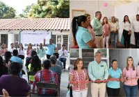 Inauguran DIF Comala y DIF Estatal la Unidad Básica de Rehabilitación en Suchitlán