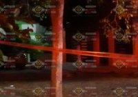 De 5 balazos ejecutan a un hombre esta noche a espaldas de la primaria Revolución, en Armería