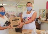 Entrega DIF Tecomán apoyos de programas de asistencia alimentaria