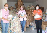 Realiza DIF Estatal segunda entrega de dotaciones alimentarias del programa Desayunos Escolares