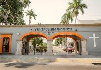 Ante la contingencia de salud, Panteón Municipal de Colima no tendrá acceso a visitantes el próximo 10 de mayo.