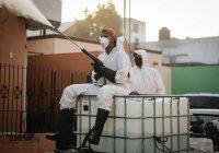 Se suman a las acciones del Ayuntamiento de Colima, empresas agrícolas para sanitizar el municipio.