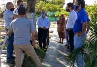 Elías Lozano logra acuerdos con habitantes de nuevo Caxitlan para definir rutas de vehículos de carga pesada