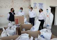 Donaciones son importantes para superar la pandemia: Gobernador