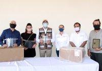 Recibe Gobierno del Estado material médico y ventiladores del sector privado