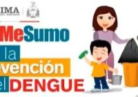 Promueve gobierno municipal de Cuauhtémoc medidas preventivas del dengue.
