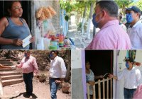 En Ixtlahuacán, el alcalde Carlos Carrasco amplia el programa Bienestar para Jefas de familia