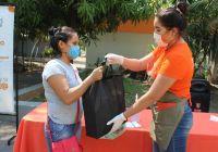Jóvenes Aliados, entregan dotaciones alimentarias en apoyo a niñas, niños y adolescentes con discapacidad