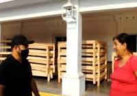 Implementa Alcalde Salvador Bueno programa de bases de cama a bajo costo en Armería