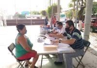 Arranque del programa de apoyo para la regularización de impuesto predial en Tecomán