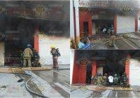 Se incendia negocio en el Barrio I en Manzanillo, no se reportan lesionados