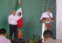 Colima aporta mucho a la Federación y recibe poco: Gobernador al Presidente