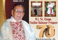 """Con Misa de Acción de Gracias en Catedral, celebrarán 70 años de vida sacerdotal al padre """"Polito"""""""