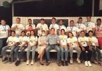 Reconoce Alcalde Elías Lozano esfuerzo del Deportivo Monarcas, por lograr oro y bronce de los Pride Games de Guadalajara, en Fútbol 7