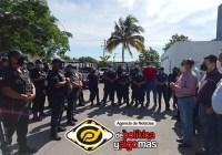 """""""Si no salen, ya saben que va a haber consecuencias"""", Felipe Cruz amenaza a policías de VdeA"""