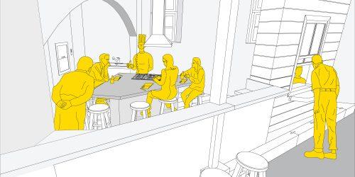 mutfak alanı - atölye