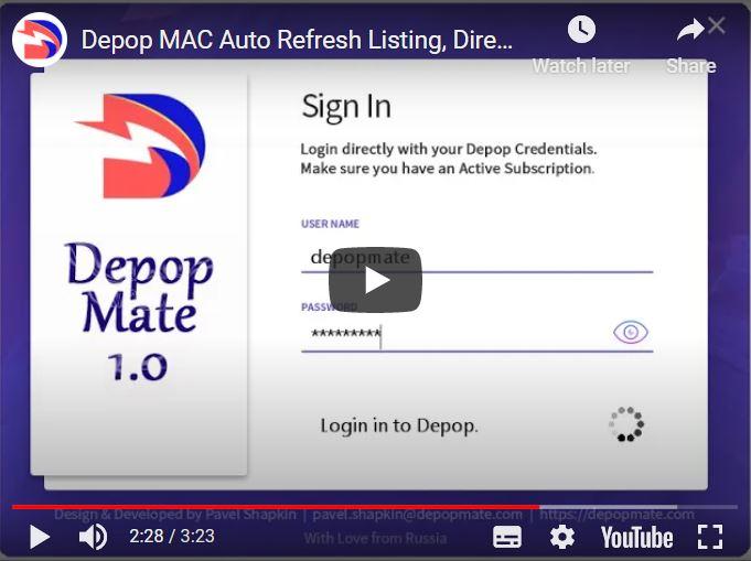 Depop Bot DepopMate Mac OS