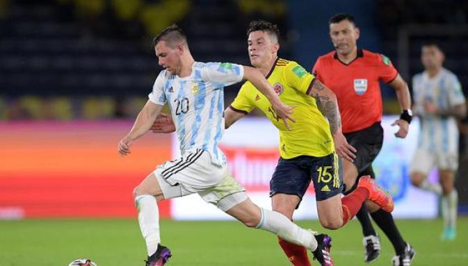 TODOS LOS GOLES Argentina 2-2 Colombia: crónica goles del partido por la fecha 8 de las Eliminatorias   FUTBOL-INTERNACIONAL   DEPOR