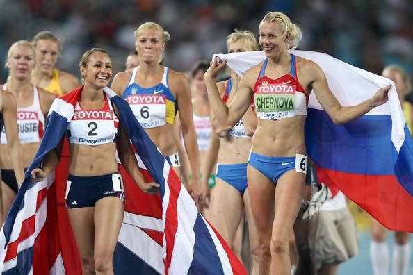 Jessica Ennis y Tatyana Chernova no podrán reeditar en Moscú sus duelos por ser la atleta más completa.