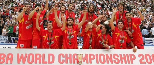 Tras ser campeones del mundo en Japón en 2006, España intentará volver a repetir la hazaña en casa.
