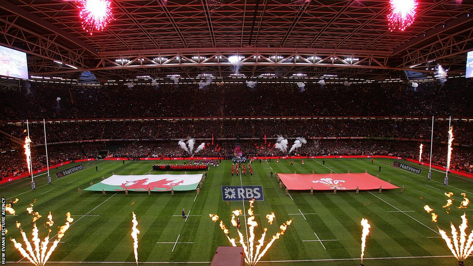 El Milenium Stadium es el gran santuario deportivo de País de Gales.