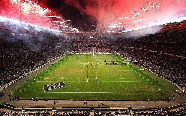 El estadio de Twickenham es la gran catedral del rugby inglés.