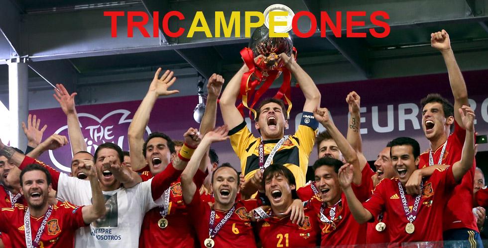 España afronta en Brasil un reto mayúsculo, ser campeón en cuatro grandes torneos consecutivos, algo inédito hasta ahora.