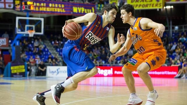 Oklahoma tiene los derechos en la NBA del joven internacional del FC Barcelona Álex Abrines.