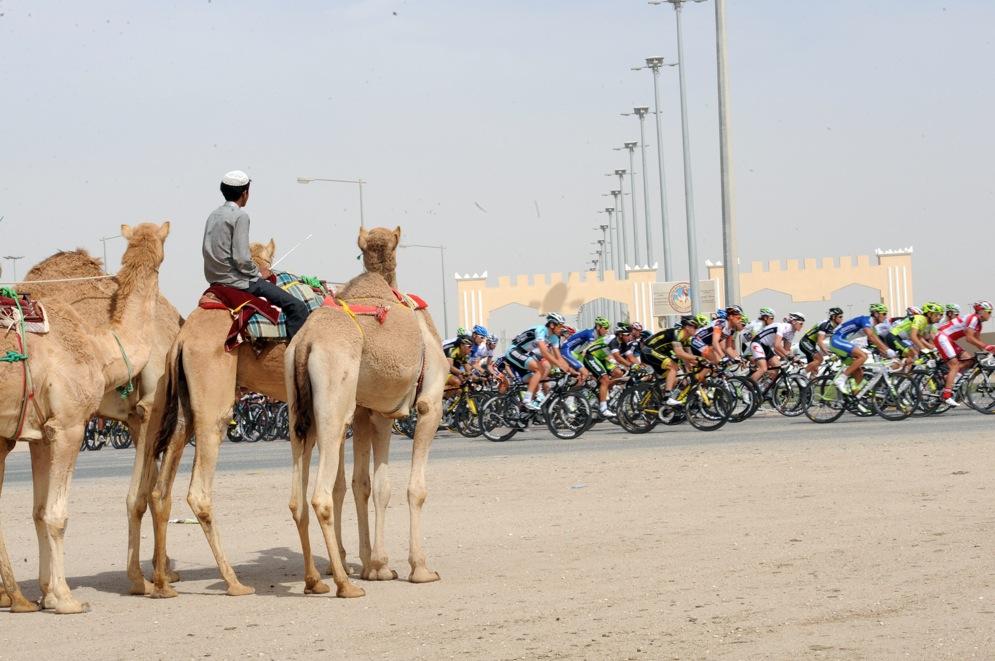 El Tour de Catar es una de las pruebas más exóticas del calendario ciclista.