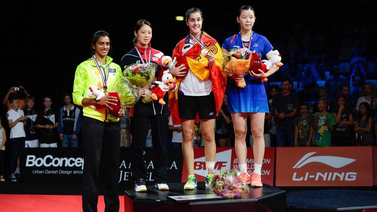 Carolina Marín hizo historia al ser la primera no asiática en ser campeona del mundo de bádminton.