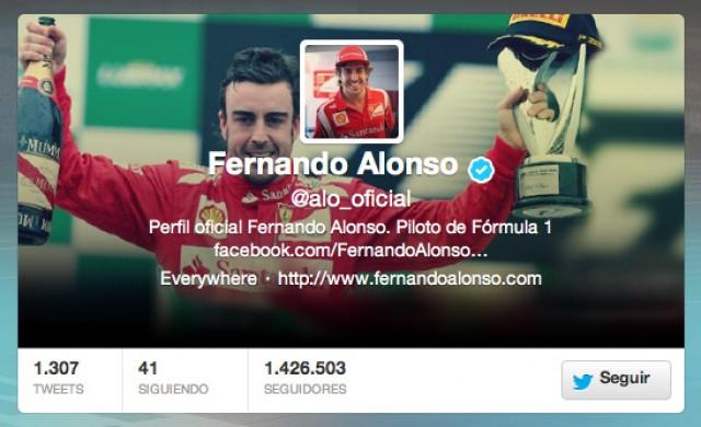 Fernando Alonso se resistía a las redes sociales pero finalmente se ha unido a la comunicación digital.