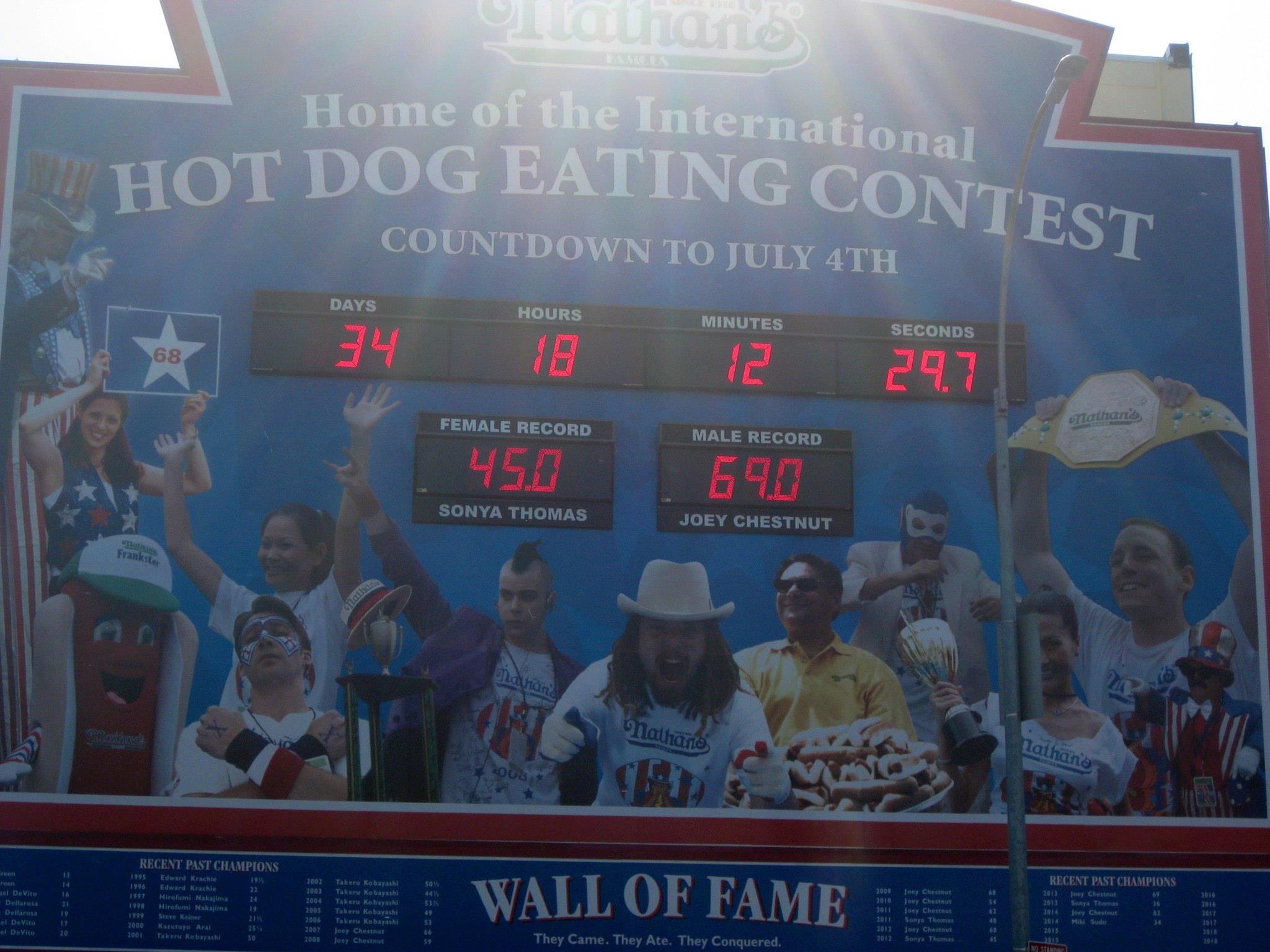 ¿Tiene más mérito Usain Bolt o el recordman mundial de ingesta de perritos calientes?