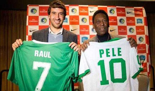 Tras su retirada en el Cosmos neoyorquino, Raúl González será la pieza clave de la primera franquicia internacional del Real Madrid.