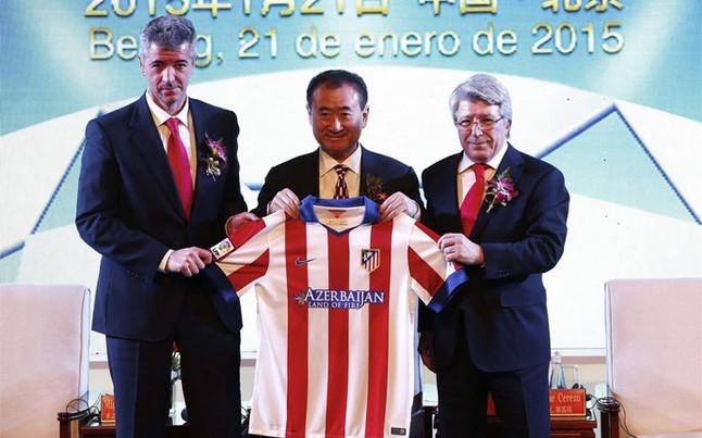El multimillonario chino Wang Jianlin se ha convertido en uno de los principales accionistas del Atlético de Madrid (Foto: Diario Sport).