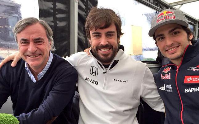 Carlos Sainz padre e hijo son, junto a Fernando Alonso, grandes referencias en el automovilismo español.