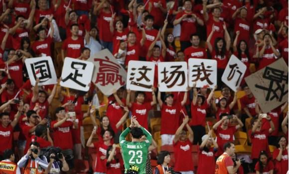 Los porteros en la liga china sólo pueden ser locales.