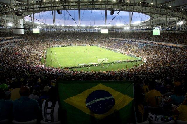 El nuevo estadio de Maracaná albergará las ceremonias y la final de fútbol.