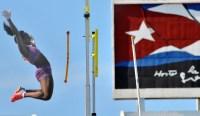 Atletismo Copa Cuba Yarisley Silva gana el salto con pertiga F