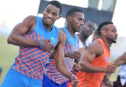 Atletismo Copa Cuba 100 M P- Roberto SKyers gana oro con tiempo de 10,17 Foto: Ricardo López Hevia