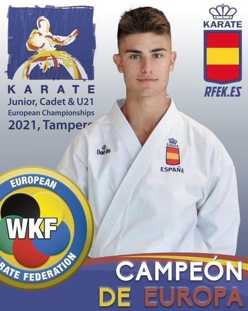 Alejandro Catalán Campeón de Europa