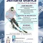 Cartel Semana Blanca 2015-2016